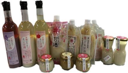 八ヶ岳山麓の米麹の恵の甘酒